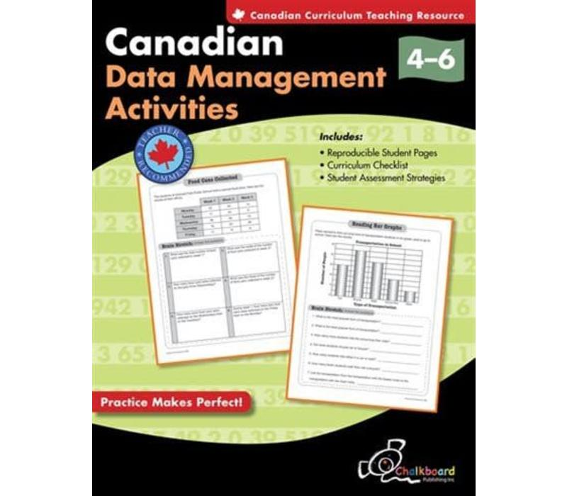 Canadian Data Management Activities 4-6