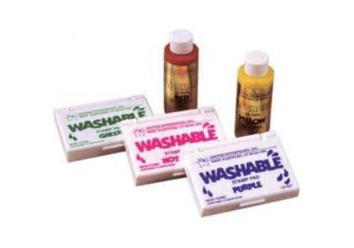 CENTER ENTERPRISES Hot Pink Washable Stamp Pad *
