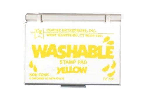 CENTER ENTERPRISES Yellow Washable Stamp Pad *