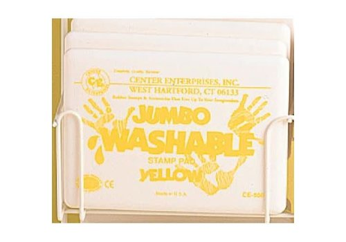 CENTER ENTERPRISES Yellow Jumbo Washable Stamp Pad