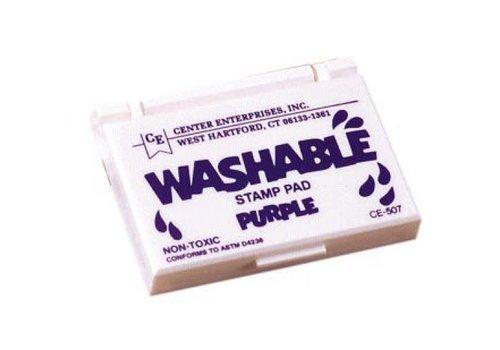CENTER ENTERPRISES Purple Jumbo Washable Stamp Pad