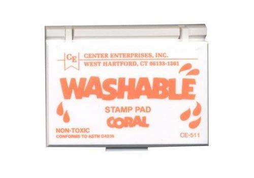 CENTER ENTERPRISES Coral Washable Stamp Pad