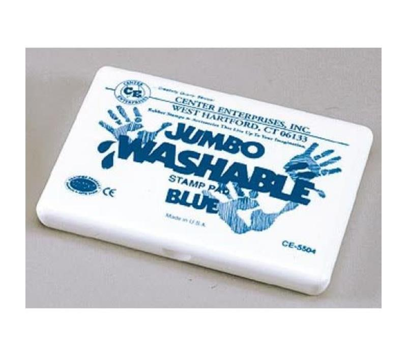 Blue Jumbo Washable Stamp Pad