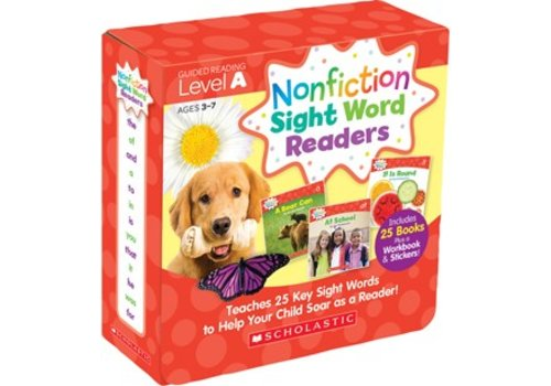 SCHOLASTIC CANADA Scholastic Nonfiction Sight Word Readers-Level A
