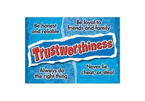 Trend Enterprises Trustworthiness Poster