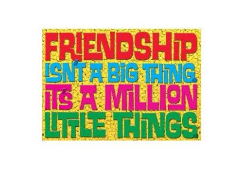 Trend Enterprises Friendship isn't a big thing