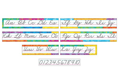 Trend Enterprises Color Splash Alphabet Line *