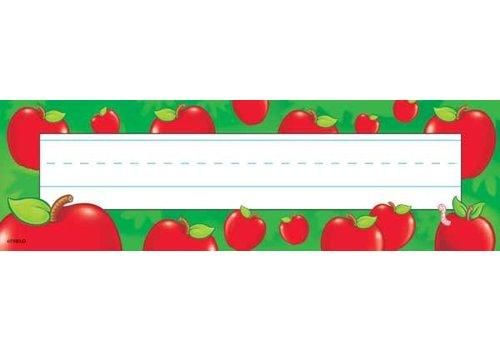Trend Enterprises Apples Name Plate
