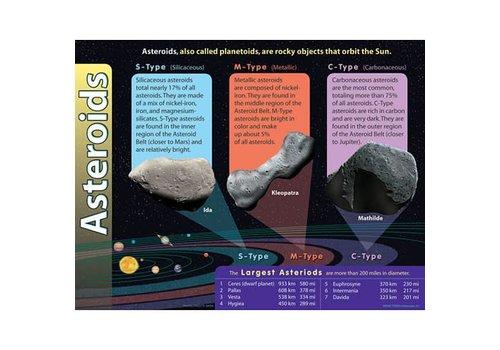 Trend Enterprises Asteroids Poster* (D)