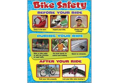 Trend Enterprises Bike Safety Poster