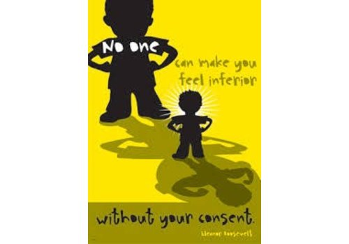 Trend Enterprises No one can make you feel inferior Poster*
