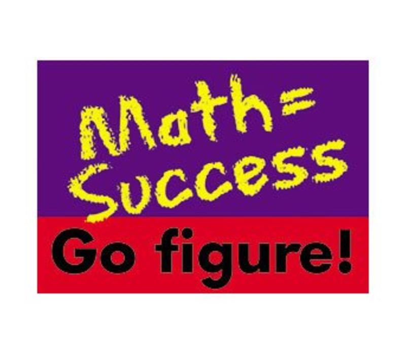 Math = Success poster