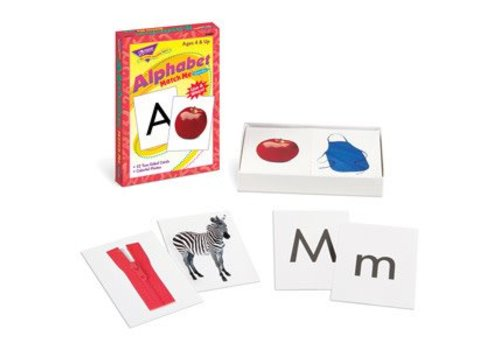 Trend Enterprises Alphabet Match-Me Cards