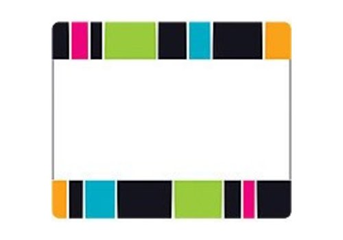 Trend Enterprises Striped Labels/Nametags