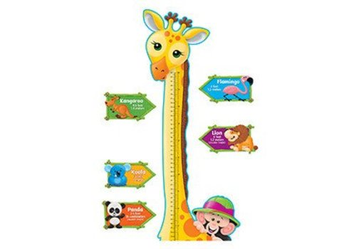 Trend Enterprises Giraffe Growth Chart