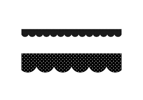 CTP Swiss Dots Wide Border