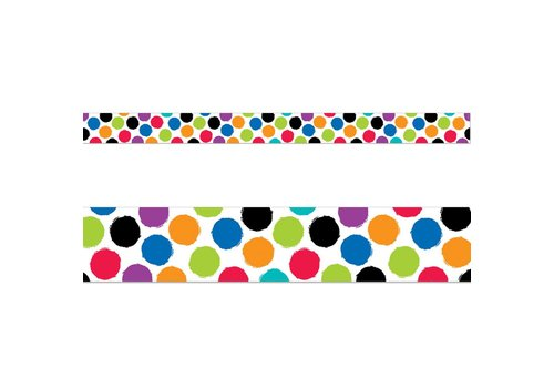 CTP Colorful Spots Wide Border