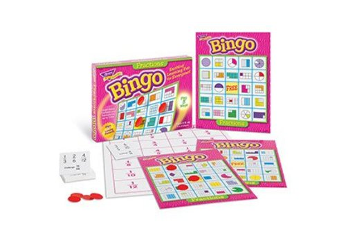 Trend Enterprises Fractions Bingo