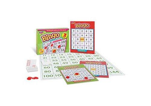 Trend Enterprises Multiplication & Division Bingo