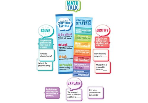 Creative Teaching Press Math Talk Mini BBS