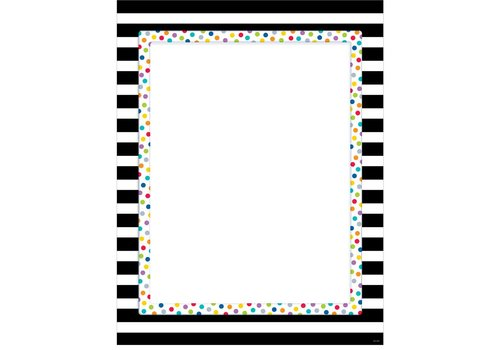 CTP Bright & Bold Blank Chart