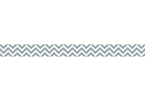 Creative Teaching Press Slate Gray Chevron Border