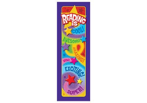 Trend Enterprises Reading is... Praise Words 'n Stars Bookmarks