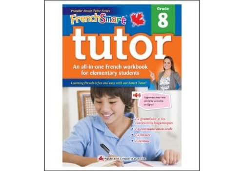 Popular Book Company French Smart Tutor Grade 8 - Immersion
