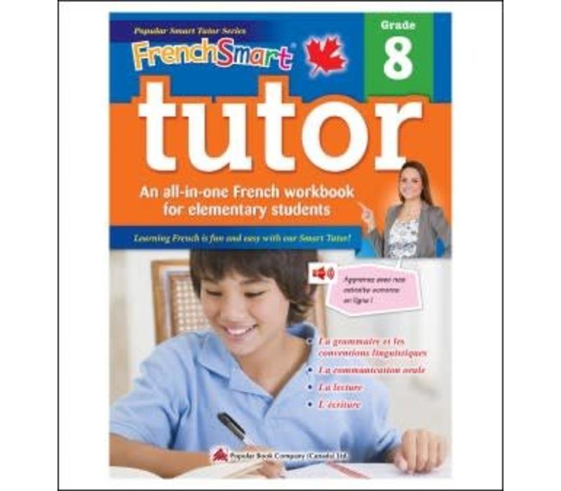 Popular Book Company French Smart Tutor Grade 8 - Immersion