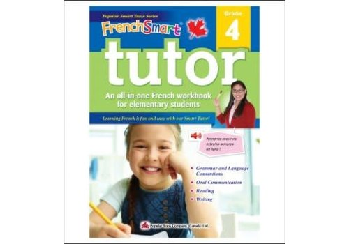 Popular Book Company French Smart Tutor Grade 4 - Immersion
