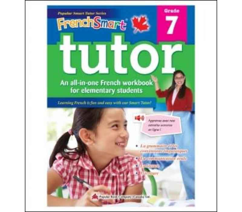 Popular Book Company French Smart Tutor Grade 7 - Immersion