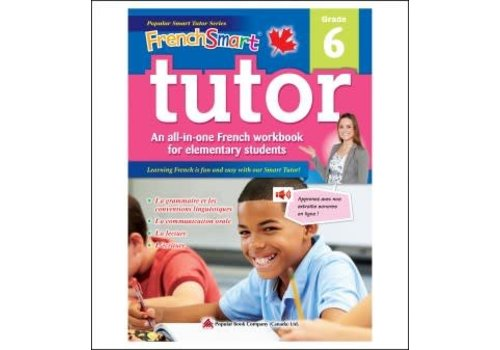 Popular Book Company French Smart Tutor Grade 6 - Immersion