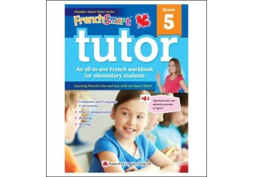 Popular Book Company French Smart Tutor Grade 5 - Immersion