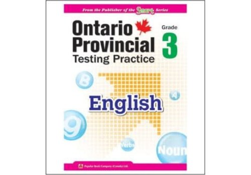 Popular Book Company Ontario Provincial Testing Practice Gr. 3 English