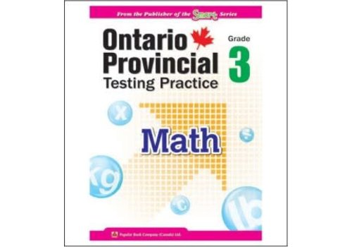 Popular Book Company Ontario Provincial Testing Practice Gr. 3 Math