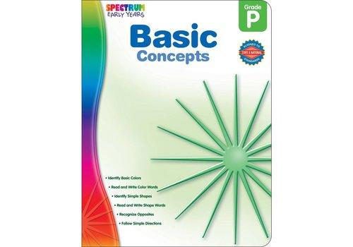 Carson Dellosa Spectrum Basic  Concepts, PreK