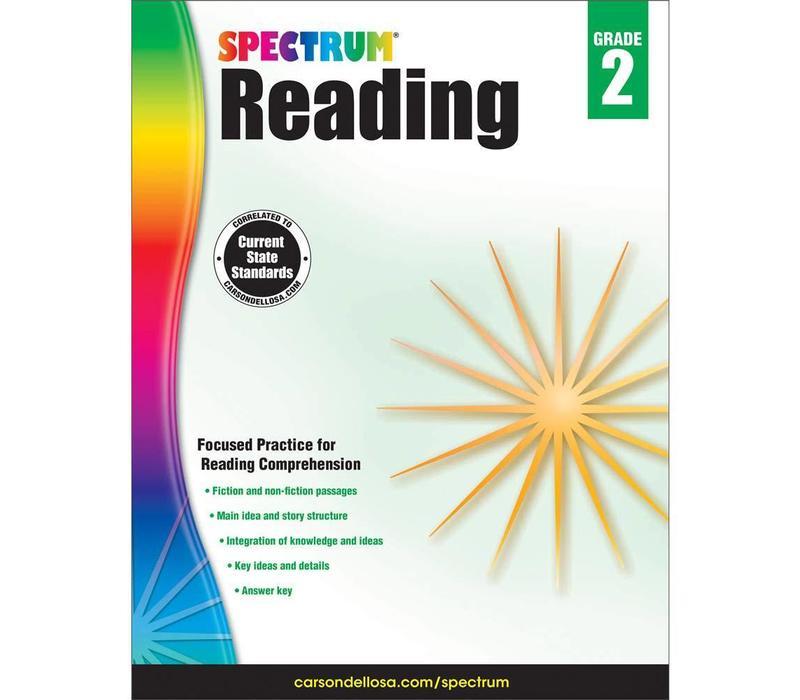 Spectrum Reading Workbook, Grade 2 *
