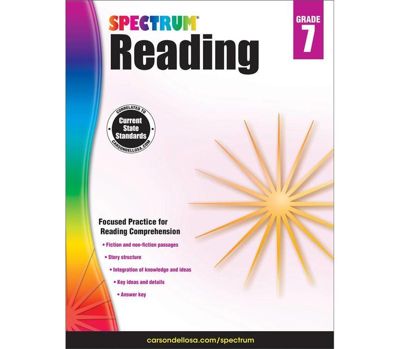 SPECTRUM READING GRADE 7 *