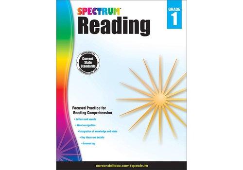 Carson Dellosa Spectrum Reading Workbook, Grade 1