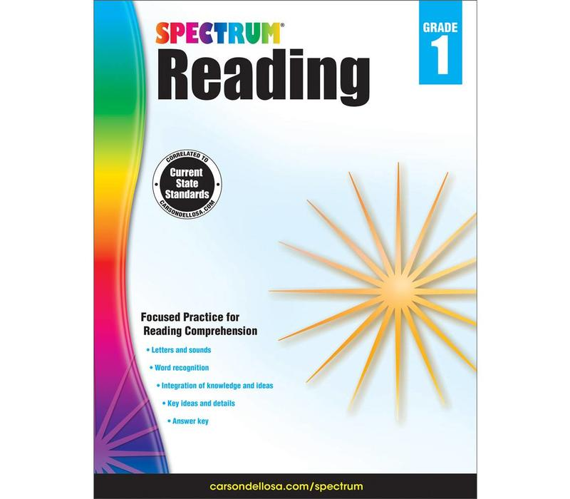 Spectrum Reading Workbook, Grade 1
