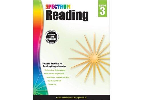 Carson Dellosa Spectrum Reading Workbook, Grade 3