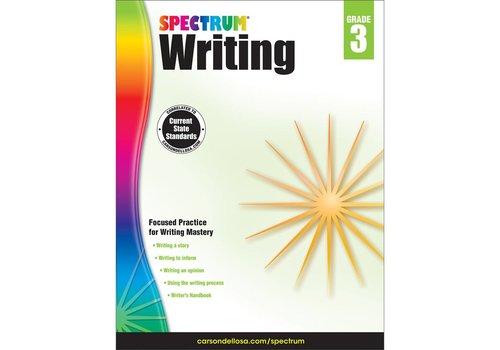 Carson Dellosa Spectrum Writing, Grade 3