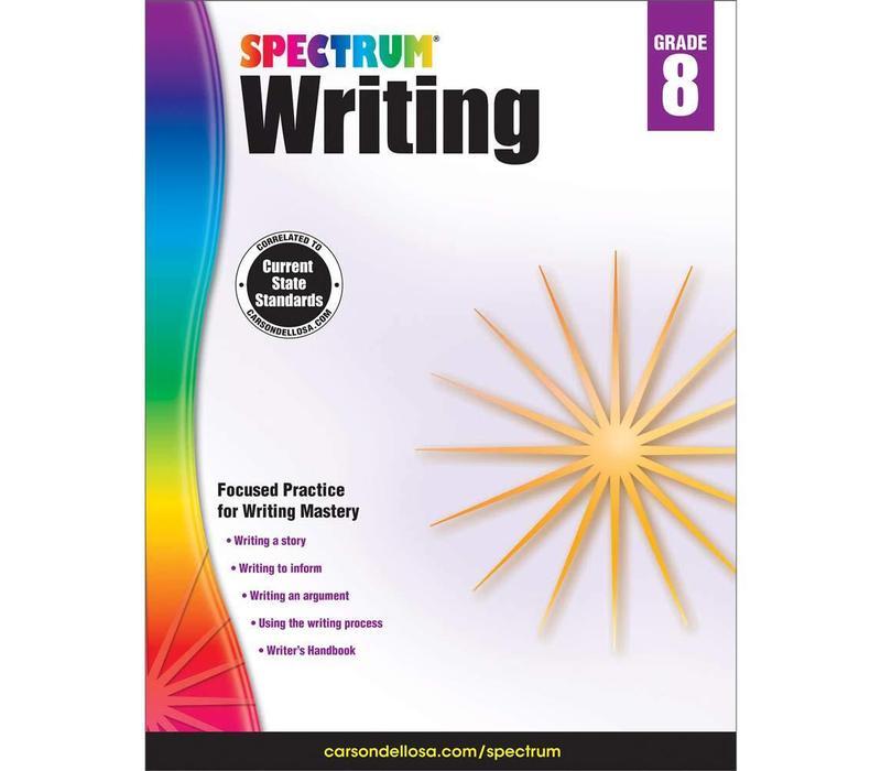 Spectrum Writing, Grade 8 *