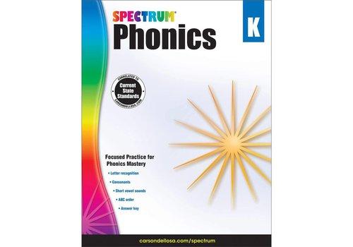 Carson Dellosa Spectrum Phonics, Grade K *