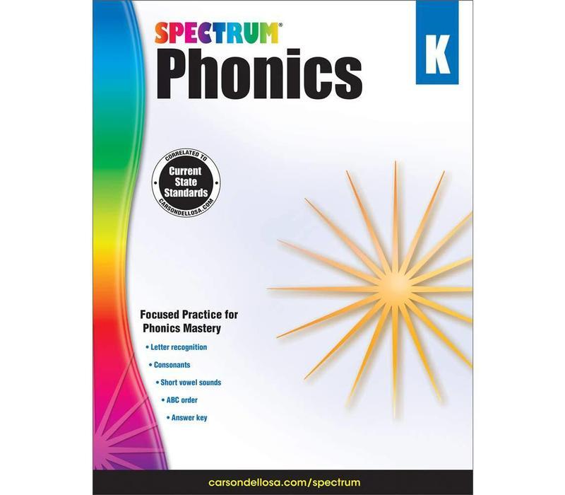 Spectrum Phonics, Grade K *