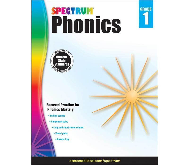 Spectrum Phonics, Grade 1 *