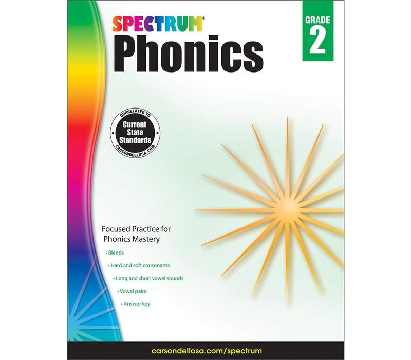 Spectrum Phonics, Grade 2 *