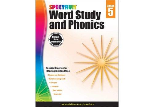 Carson Dellosa Spectrum Word Study and Phonics, Grade 5 *