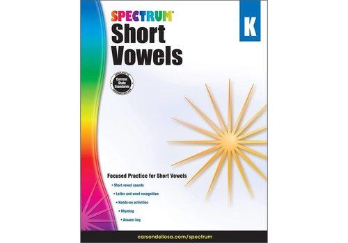 Carson Dellosa Spectrum Short Vowels
