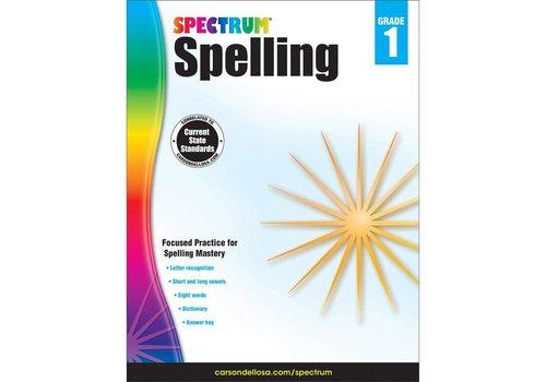 Carson Dellosa Spectrum Spelling, Grade 1
